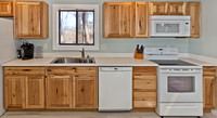 Kitchen - Custom cabinets and Appliances